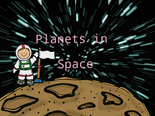 planets in space by Katie cosme