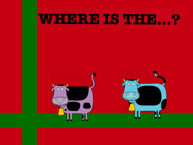 WHERE IS THE...? by Jaiden Sampson