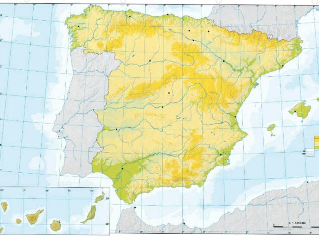 Un juego para repasar el relieve de España by Cristian Gómez Medina