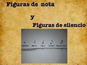 Aprendiendo las figuras de nota y de silencio by Vicente E.