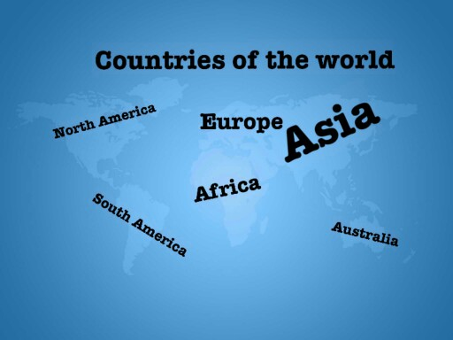 JustThis is a puzzle of a map of the world   by stacey Whitney