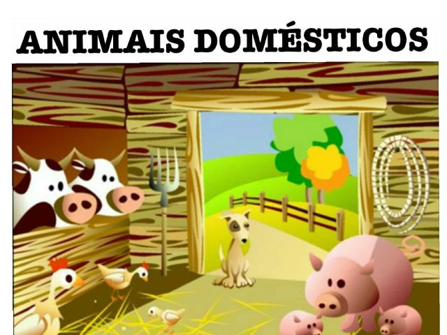 ANIMAIS DOMÉSTICOS by maria mendez leis