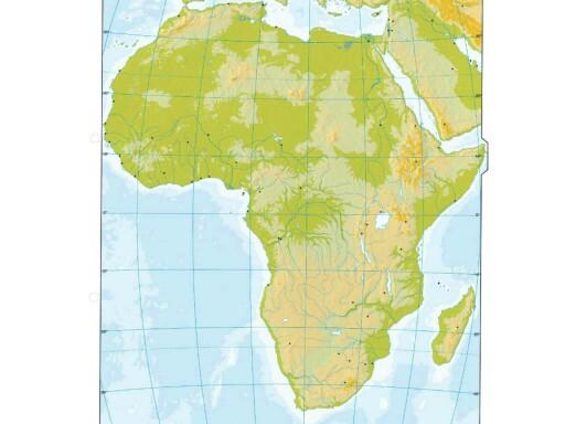 RELIEVE DE AFRICA by Jose Manuel Ruiz Medina