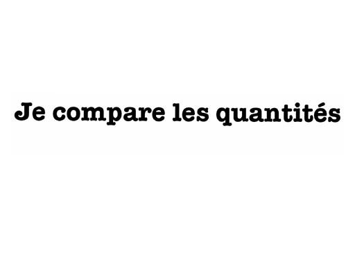 1- je compare... by david dumas