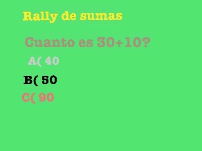 Rally de sumas  by Gerado Daniel Flores Turcios