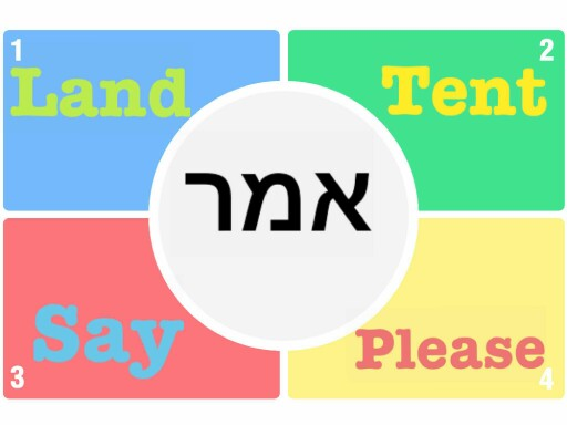 Translate family words up to unit 3 by Yaakov Singer