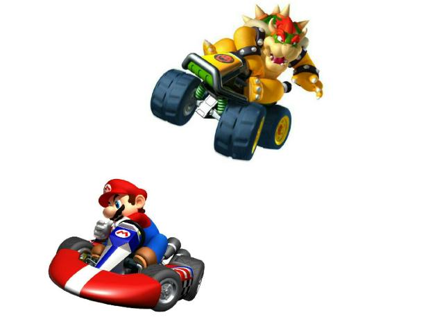 Mario cart by Shawn Gurganus