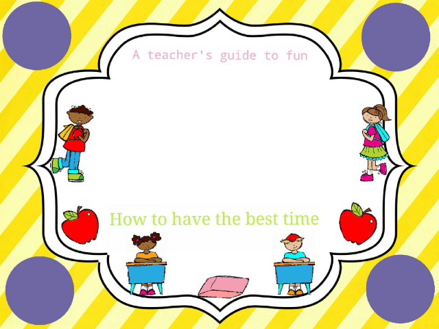 teacher's guide by Delaney Fite
