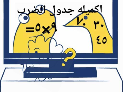 جدول الضرب by سلطان المطيري