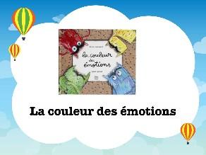 La couleur des émotions - Vocabulaire by Laetitia Balva