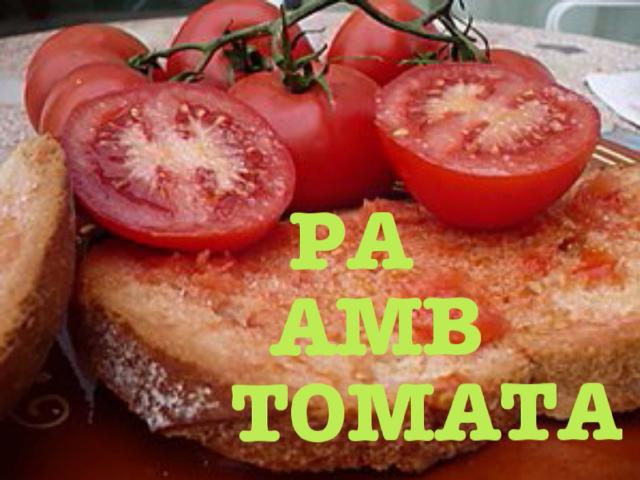 PA AMB TOMATA by Lo Meu Phablet