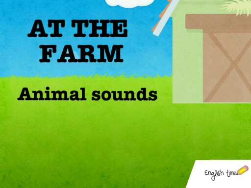 At the farm ~ animal sounds by Cecilia Zezlin