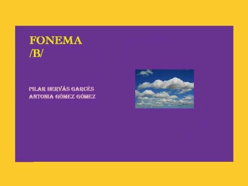 loto fonético b by pilitoninas primitivas
