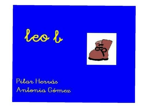 LEO CON LA B by pilitoninas primitivas