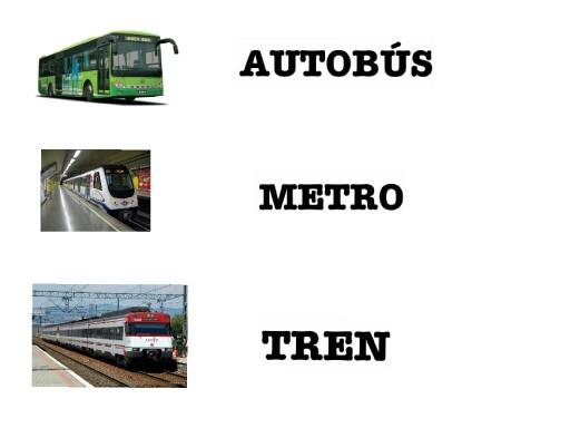 Medios de transporte by Apascovi Centro Ocupacional