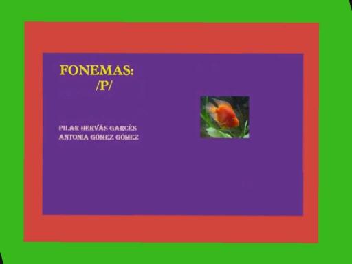 Fonema / p/ by pilitoninas primitivas