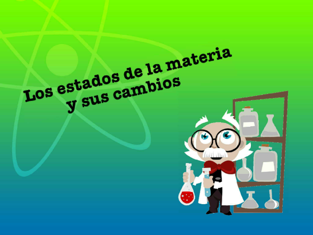 Los estados de la materia by Marcia Quintana