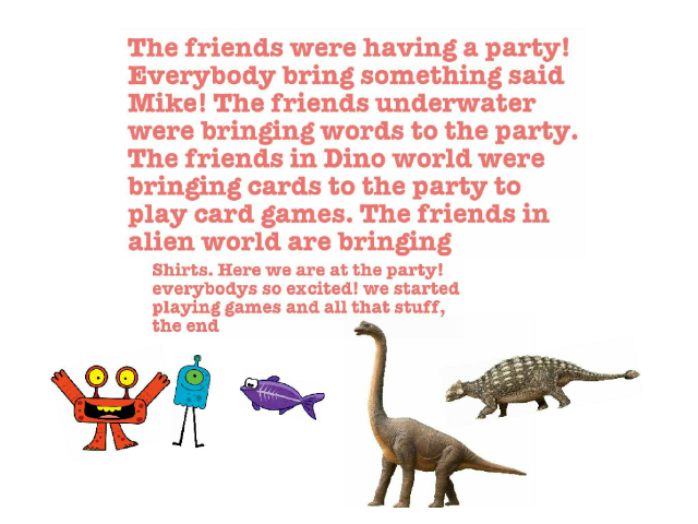 story about a party by saya brown