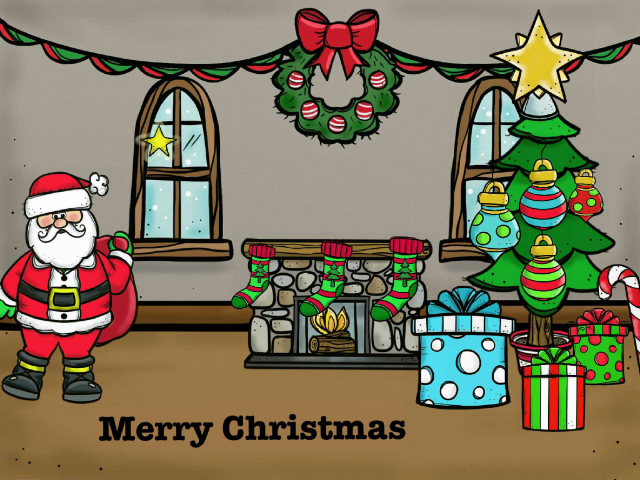 Merry Christmas game by zika ebola