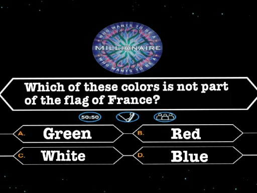 Who wants to be millionaire? by MFL Academy