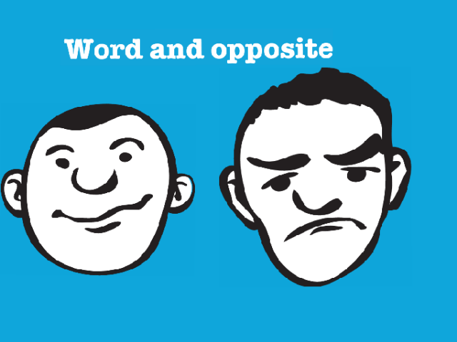 word and opposite by Olusola Hameed