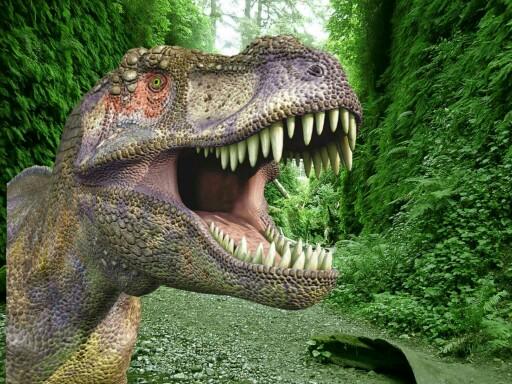Dinosaur Puzzle by Polina Cathys