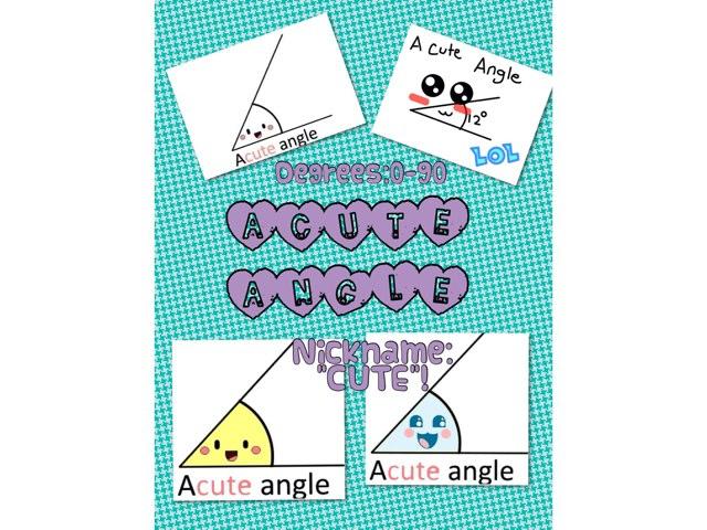 Angle Game by Krystal Wiggins
