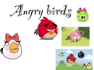 Angry Birds by Elisa Restrepo