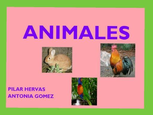 Aniales by pilitoninas primitivas