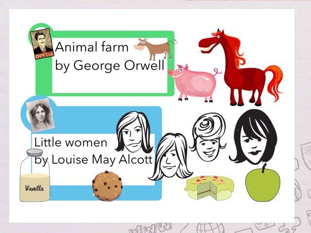 Animal Farm Vs Little Women by Amélie Silvert