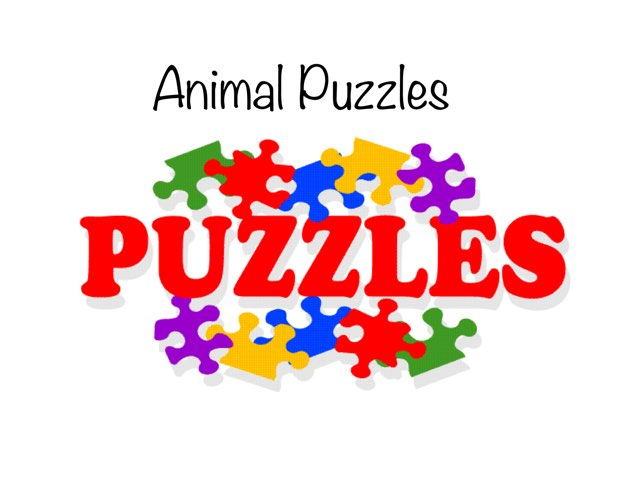 Animal Puzzles  by Michael McCabe