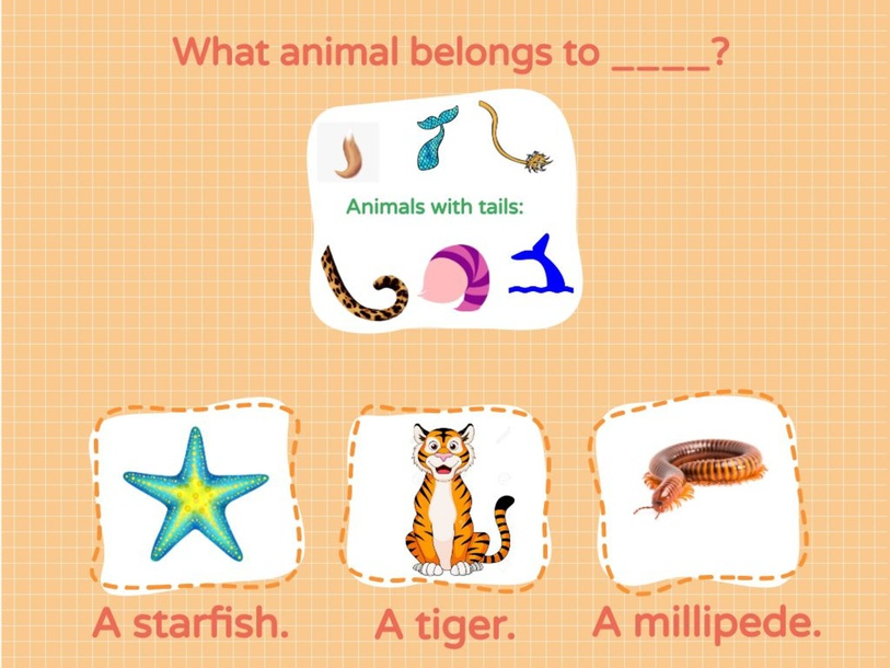 Animal Grouping Based on their Body Parts 1 by Kris Banuag