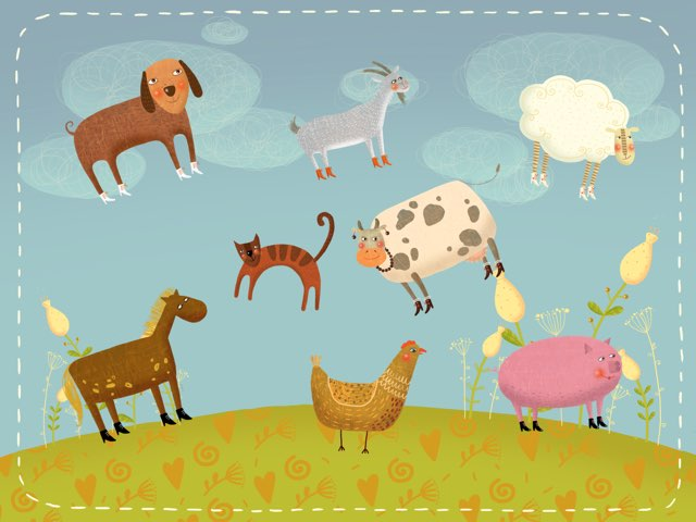 Animales by Bodil Gutedal