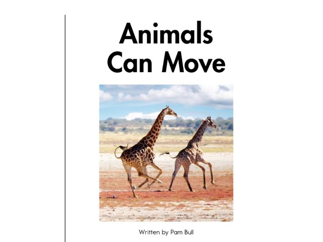 Animals Can Move by iat hcpss