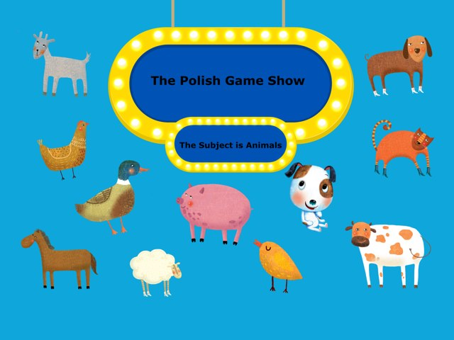 Animals In polish Game show by Jessica Tierney
