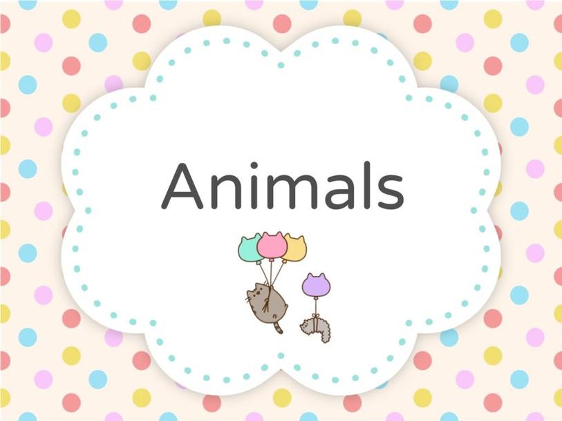 Animals by Gloria Tou