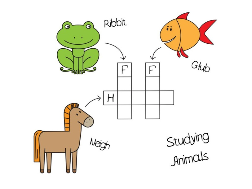 Animals Crossword Puzzle by Hadi  Oyna