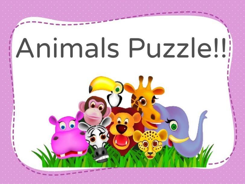 Animals Puzzle!  by Agustina Suarez