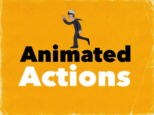 Animated Actions by Madonna Nilsen