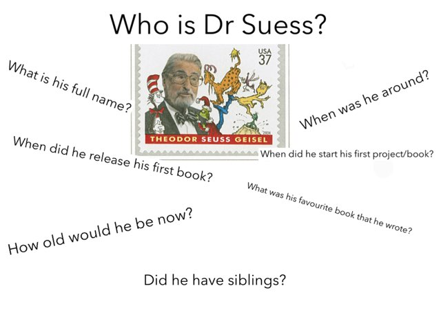 Anna and Korey Dr Seuss by Mr swallow