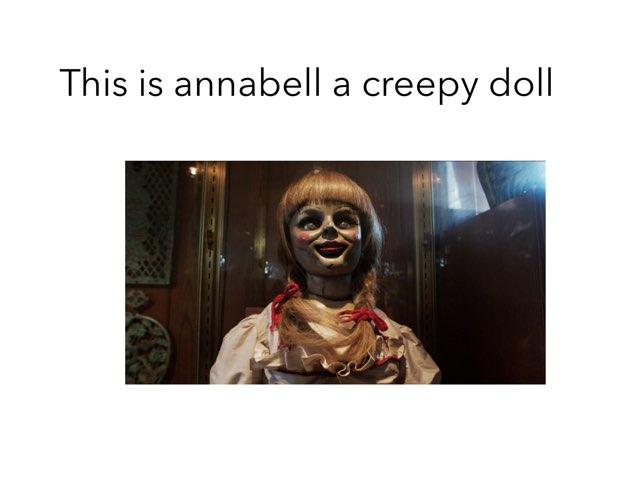 Annabell Creepy Doll by Jessica Watne