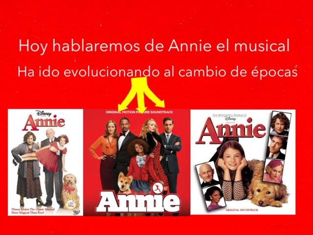Annie El Musical by Jose Luis