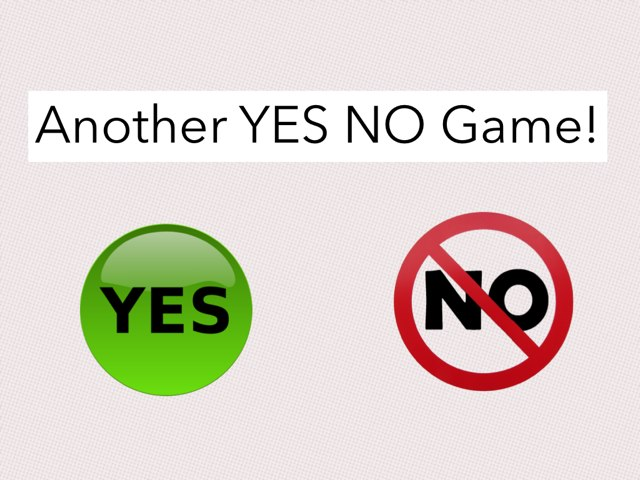 Another YES NO Game by Julie Gittoes-Henry