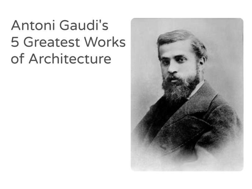 Antoni Gaudi by Tina Dia