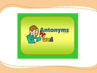 Antonyms by Nye Mohamed
