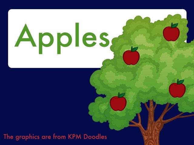 Apple Activities by Corinne Burke