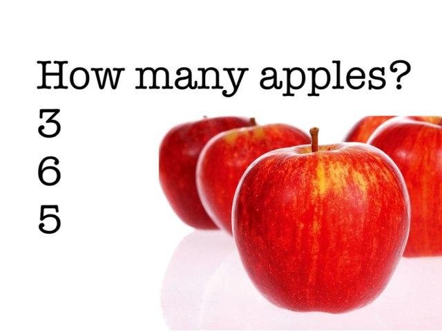 Apple Count by uri lazar