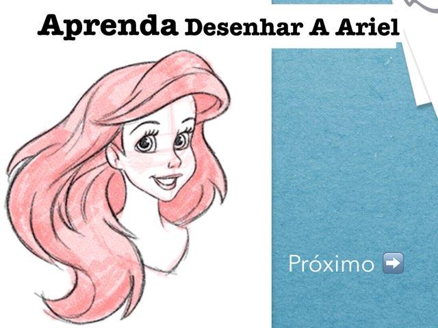 Aprenda Desenhar Ariel by Camilly Rangel