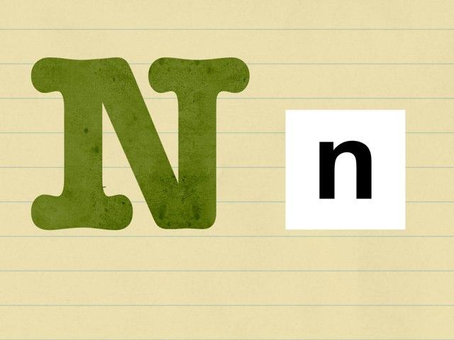 Aprendamos la N n. by Pao Mancera