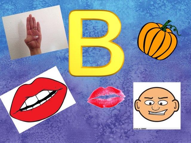 Aprendiendo Identificar B En Palabras by Pao Mancera
